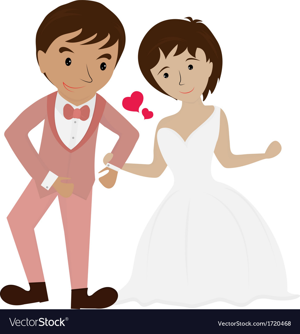 Couple wedding 1 vector | Price: 1 Credit (USD $1)