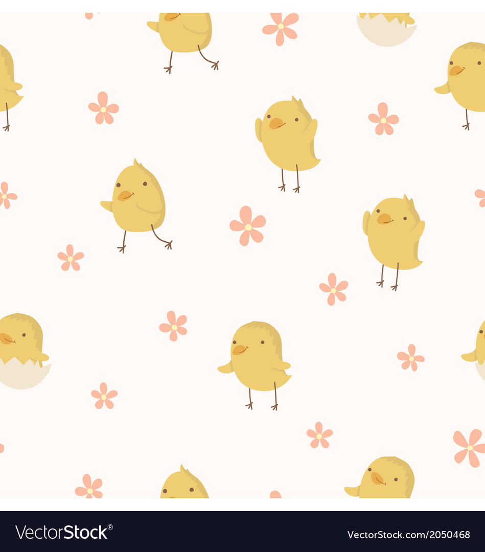 Easter concept seamless pattern vector | Price: 1 Credit (USD $1)