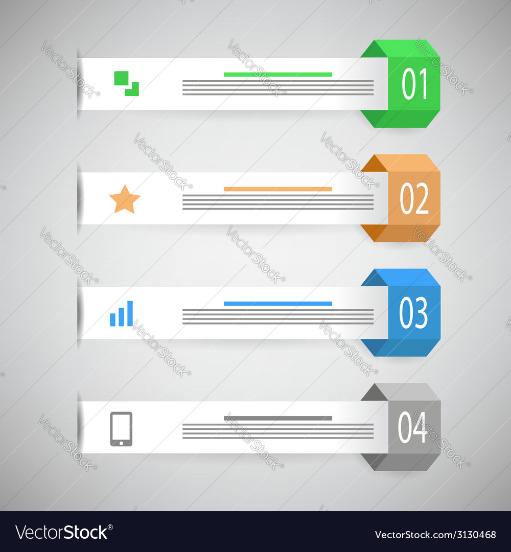 Info graphic template vector | Price: 1 Credit (USD $1)