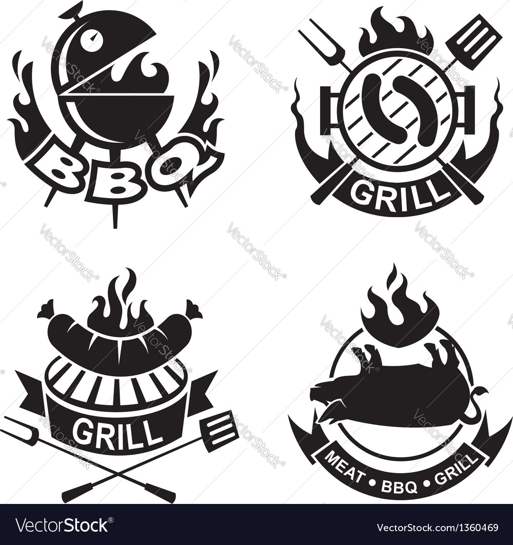 Barbecue banners vector | Price: 1 Credit (USD $1)