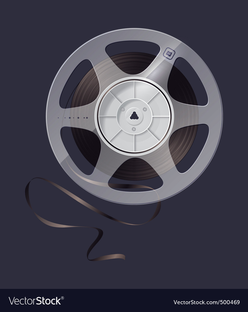 Magnetic tape vector | Price: 3 Credit (USD $3)