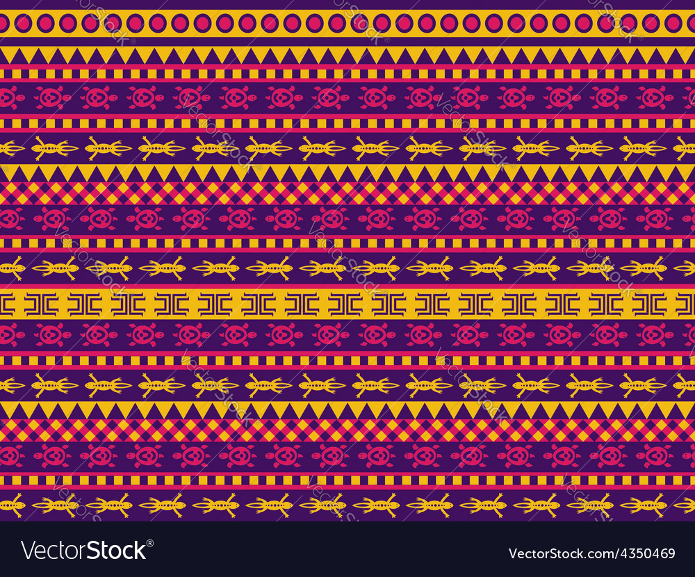 Turtle and gecko pattern vector | Price: 1 Credit (USD $1)