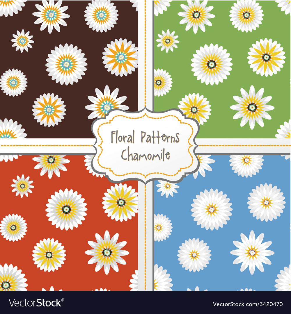 Floral pattern set vector   Price: 1 Credit (USD $1)