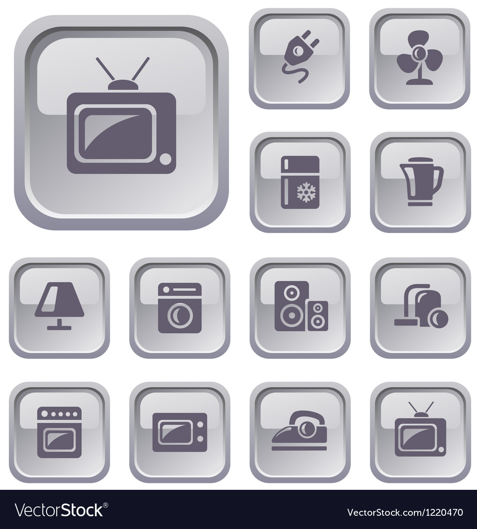 Home electronics buttons vector   Price: 1 Credit (USD $1)