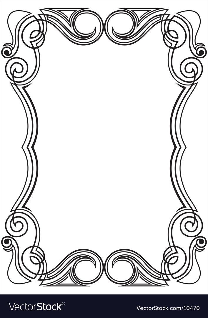 Pattern for design frame vector | Price: 1 Credit (USD $1)