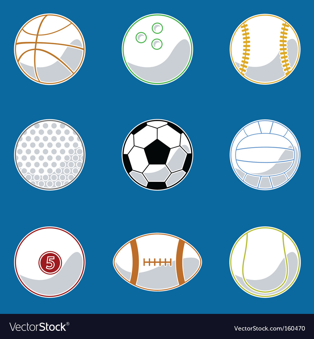 Sport ball vector | Price: 1 Credit (USD $1)