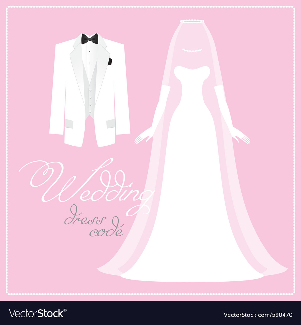 Wedding bridal dress vector | Price: 3 Credit (USD $3)