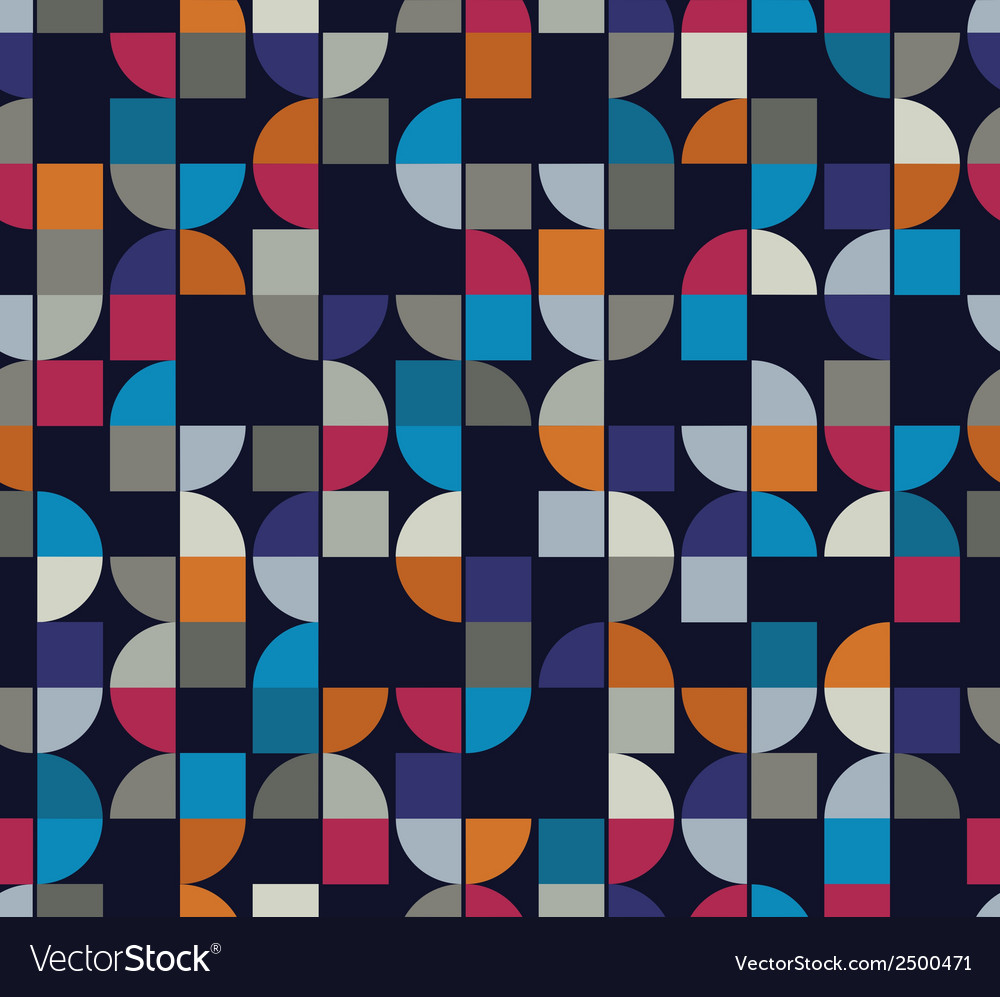 Colorful geometric background squared abstract vector | Price: 1 Credit (USD $1)