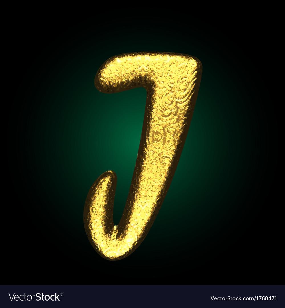 Golden figure vector | Price: 1 Credit (USD $1)