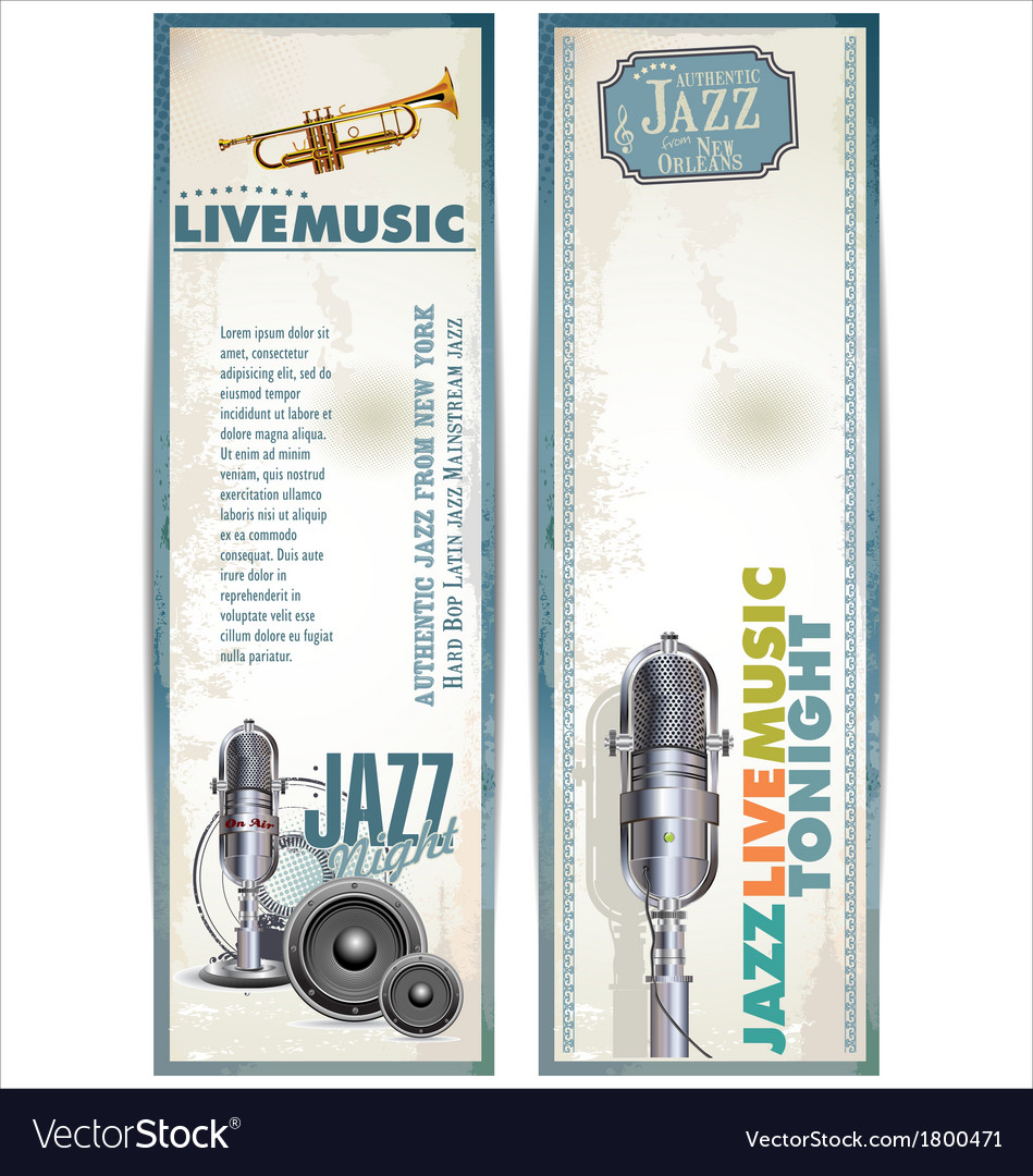 Jazz background vector | Price: 1 Credit (USD $1)