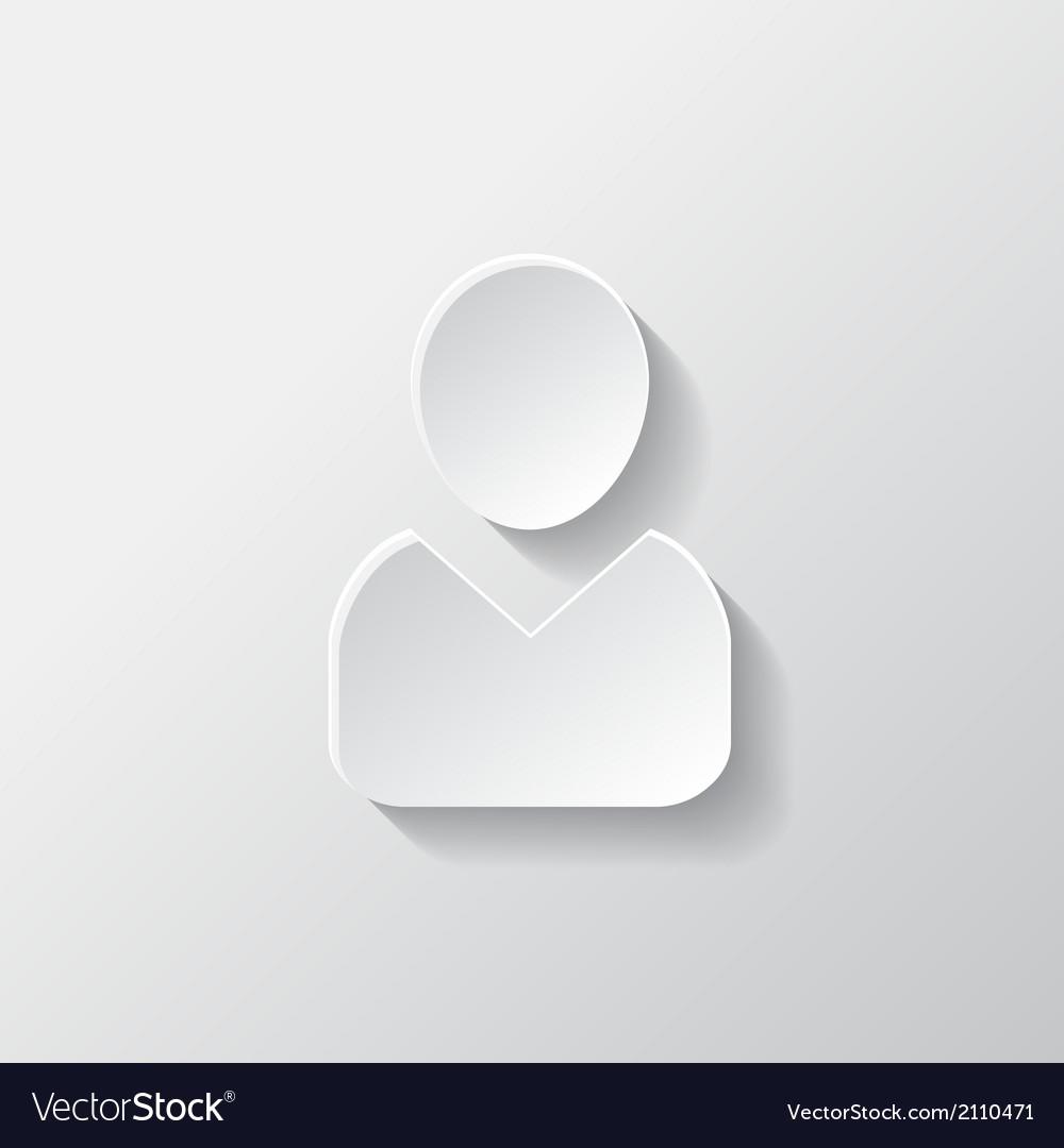 Person icon vector | Price: 1 Credit (USD $1)