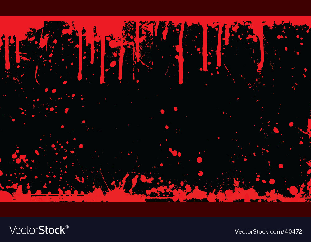 Blood splat vector | Price: 1 Credit (USD $1)