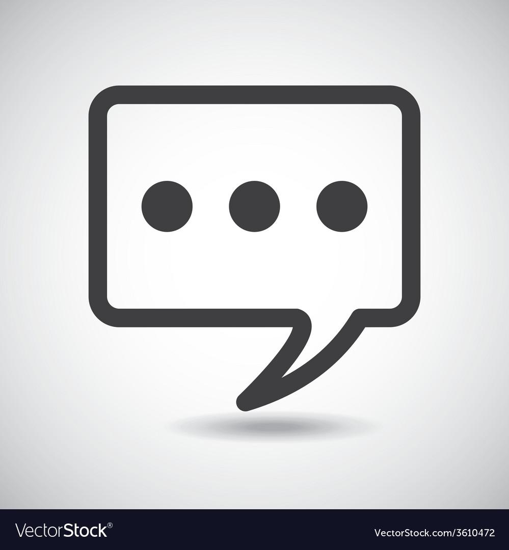 Bubble talk vector | Price: 1 Credit (USD $1)