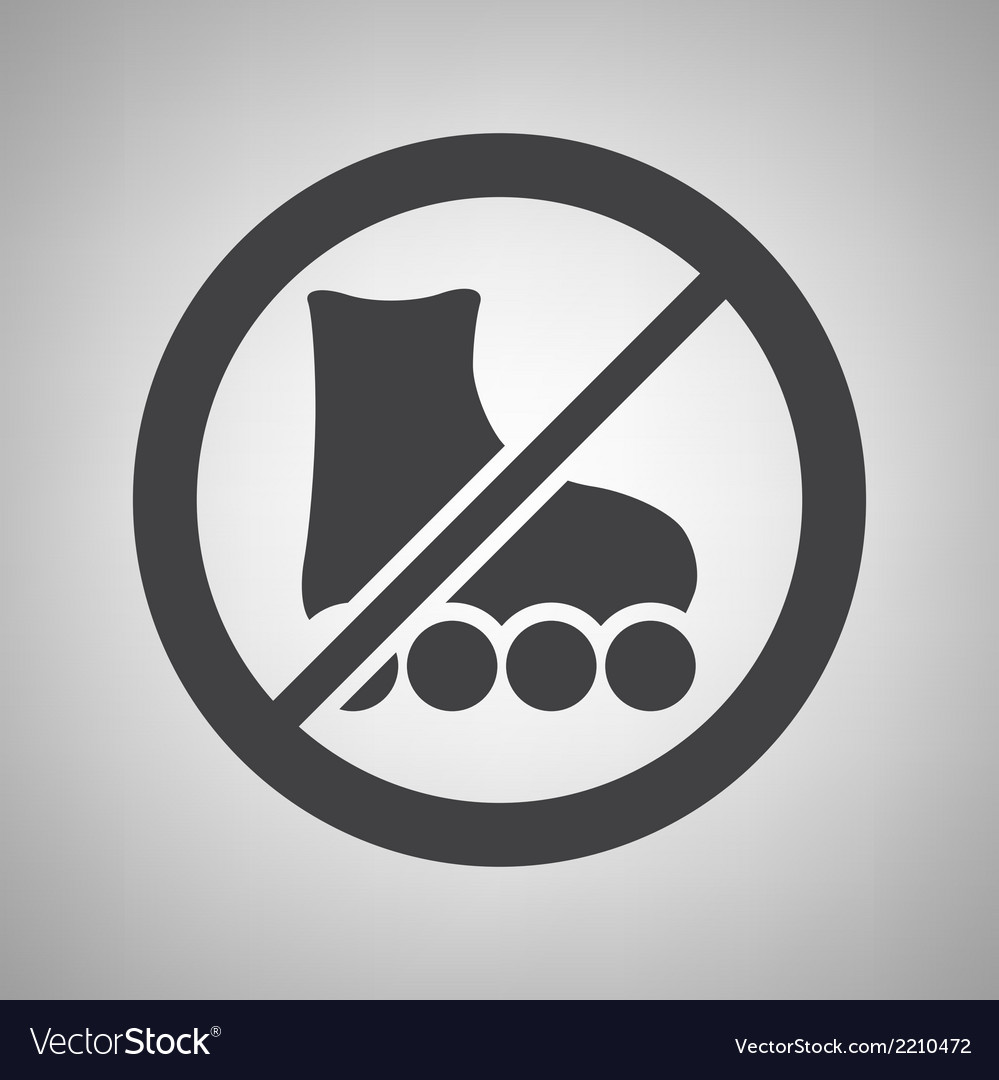 Do not ride icon vector | Price: 1 Credit (USD $1)