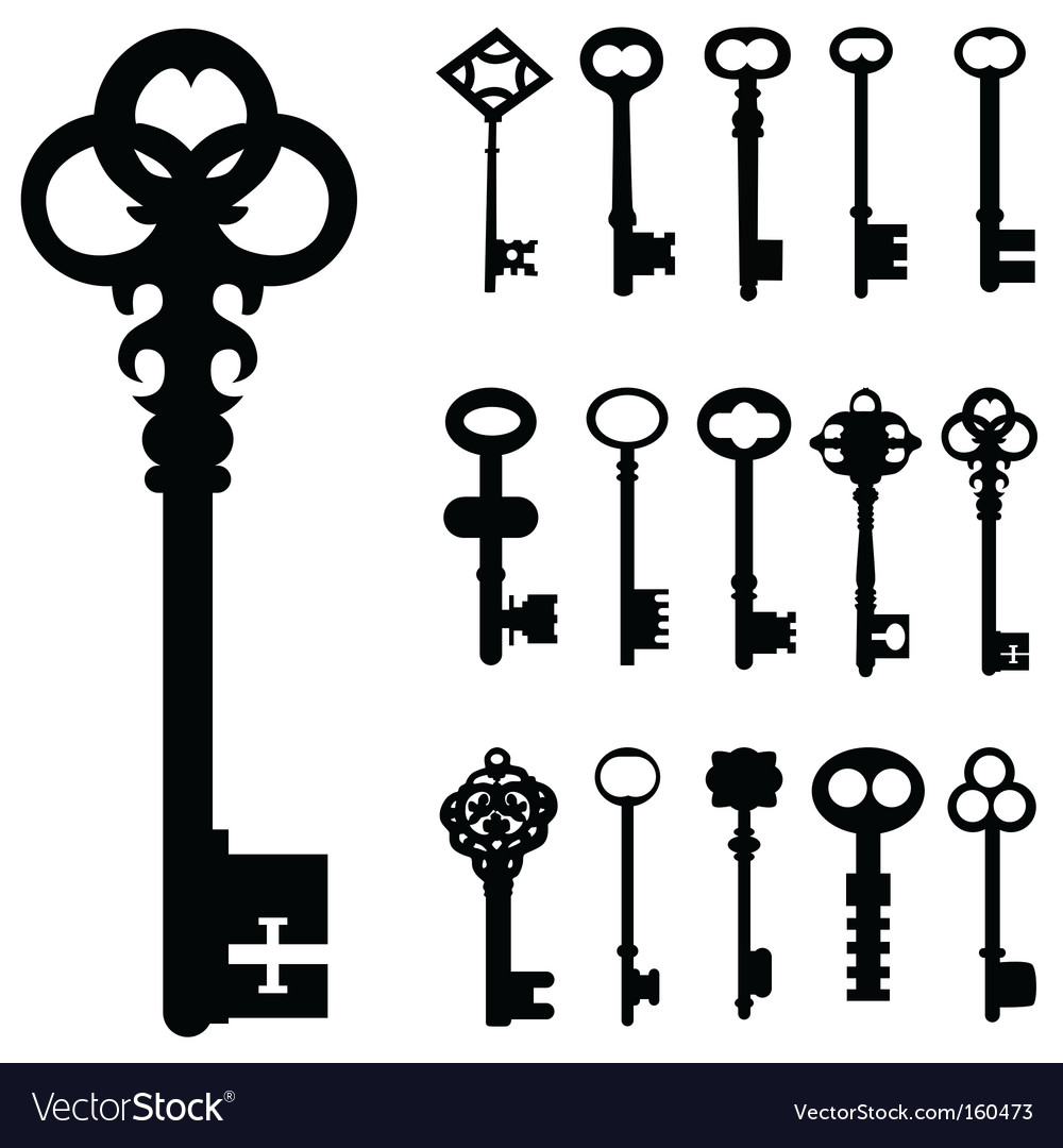 Keys vector | Price: 1 Credit (USD $1)
