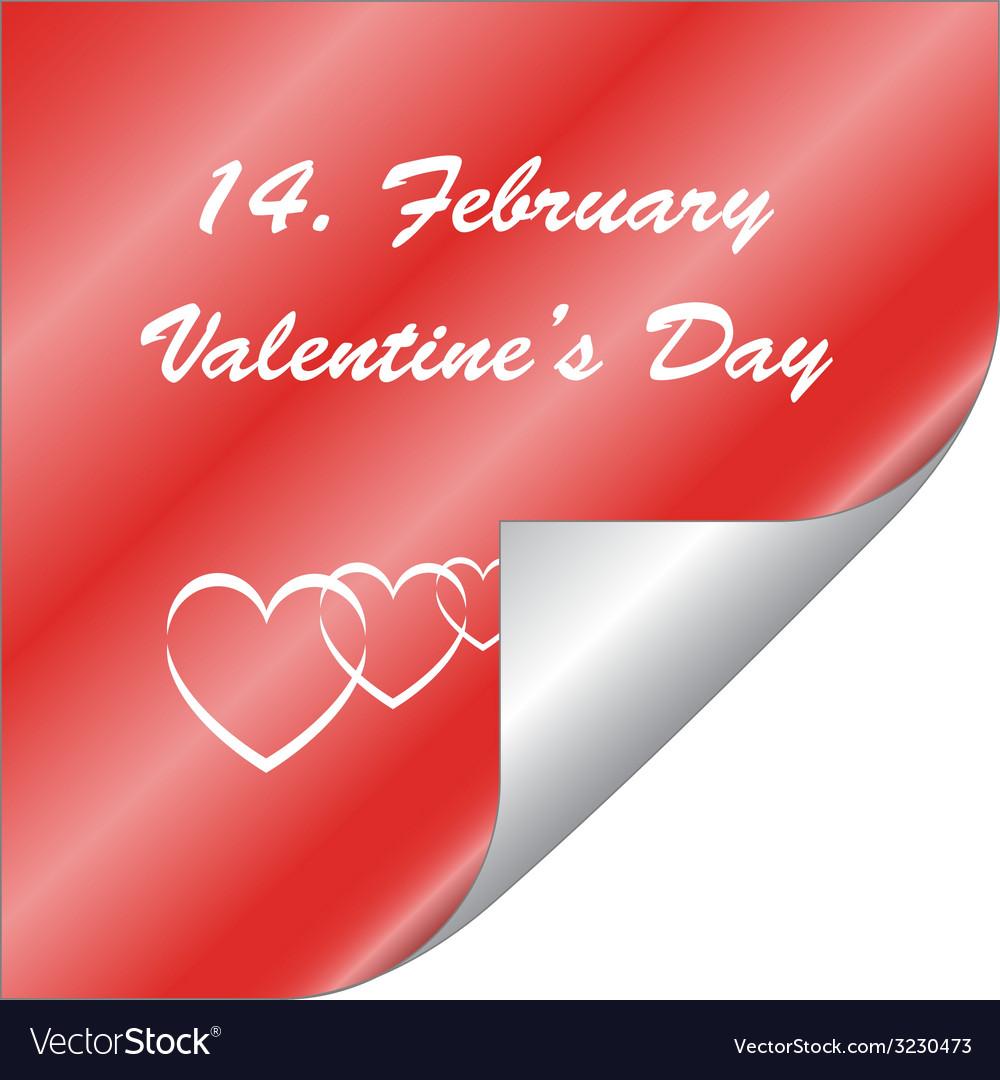 Valentine sticker vector | Price: 1 Credit (USD $1)