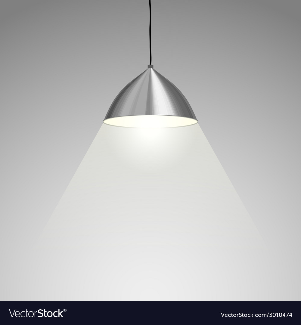 Hanging lamp vector | Price: 1 Credit (USD $1)