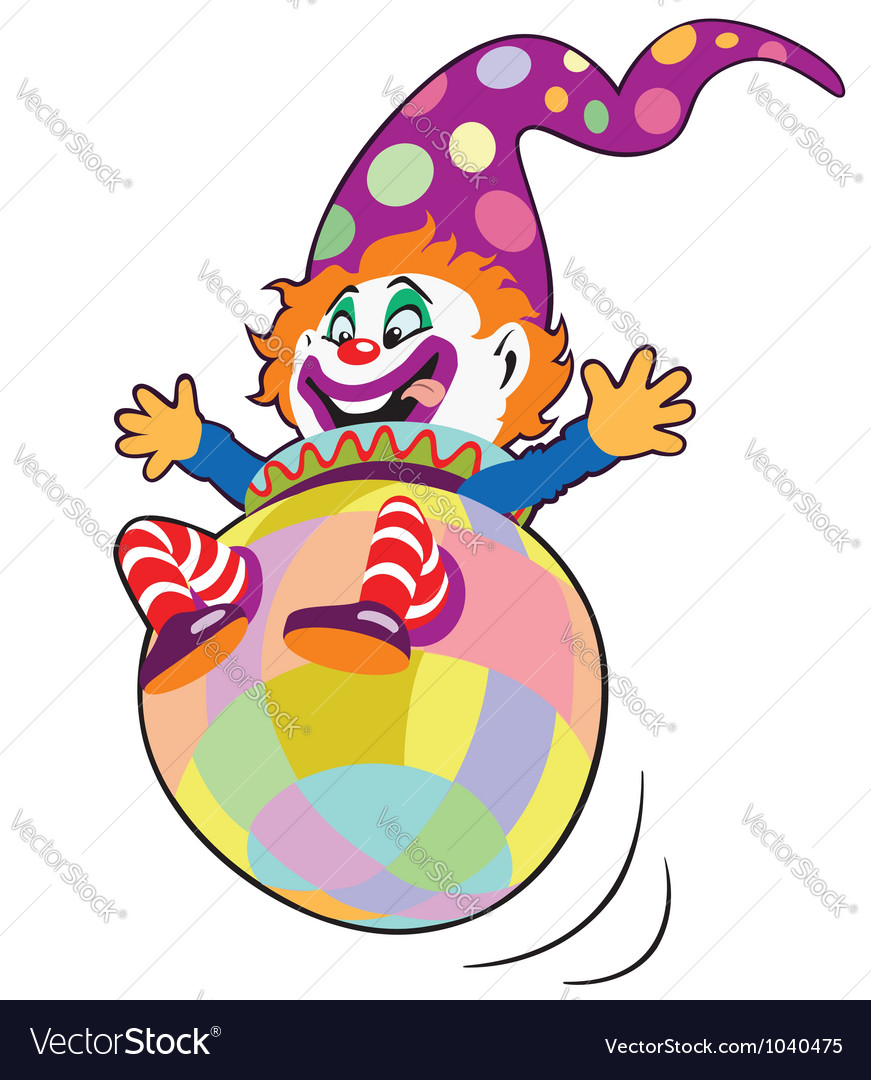 Clown toy vector | Price: 1 Credit (USD $1)
