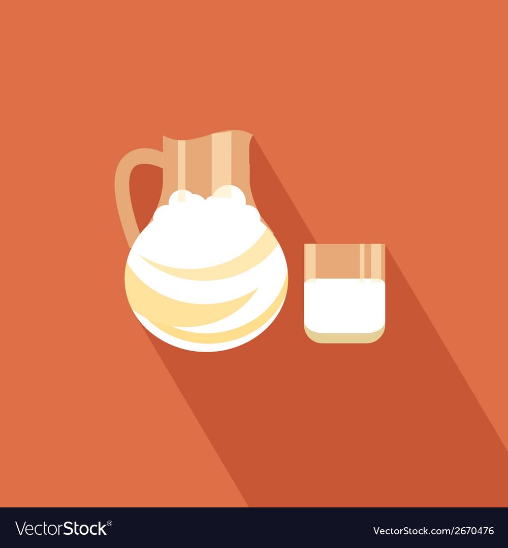 Milk icon vector | Price: 1 Credit (USD $1)