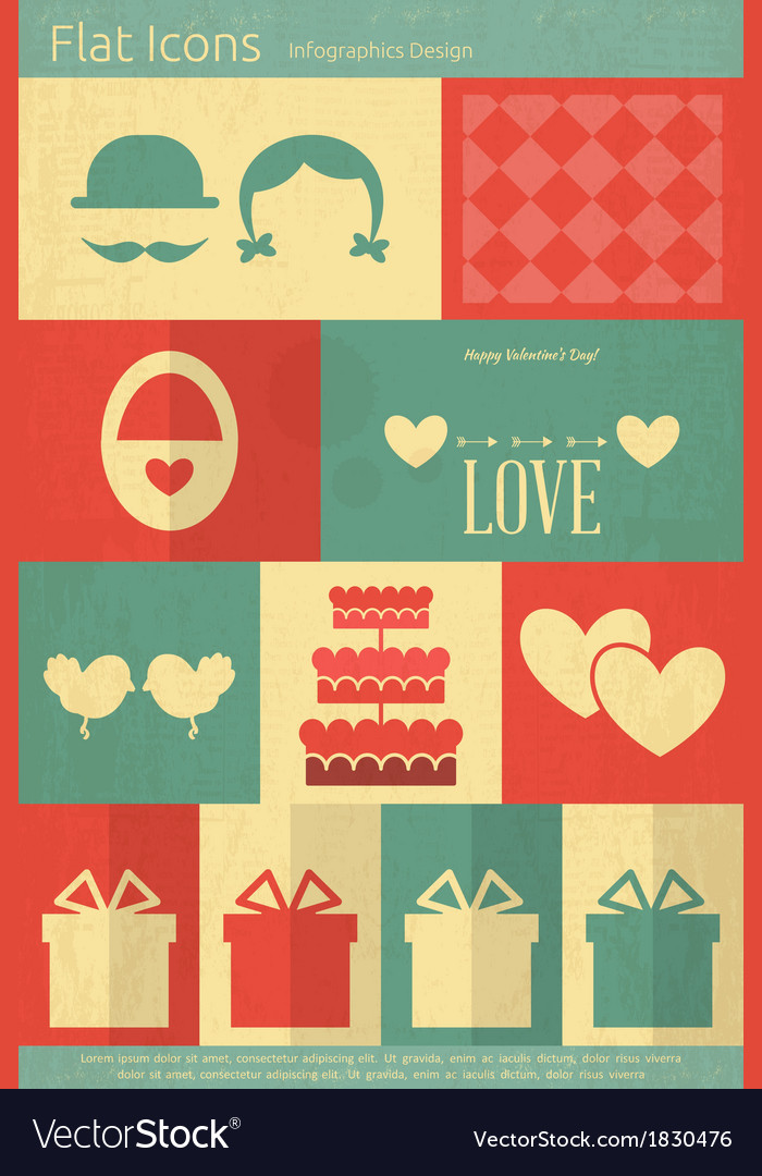 Valentines card vector | Price: 1 Credit (USD $1)