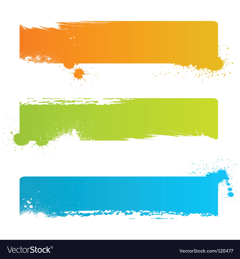 Grunge banner backgrounds vector   Price: 1 Credit (USD $1)
