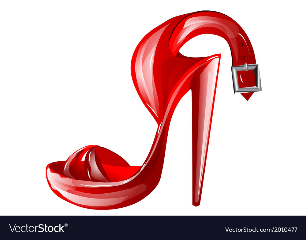 High heel vector | Price: 1 Credit (USD $1)