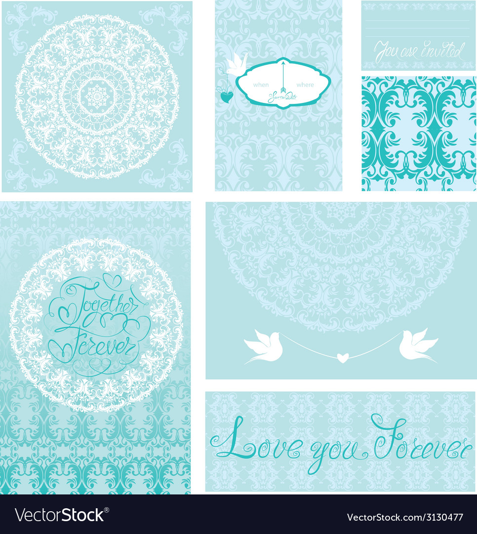 Wed invitation 4 380 vector | Price: 1 Credit (USD $1)