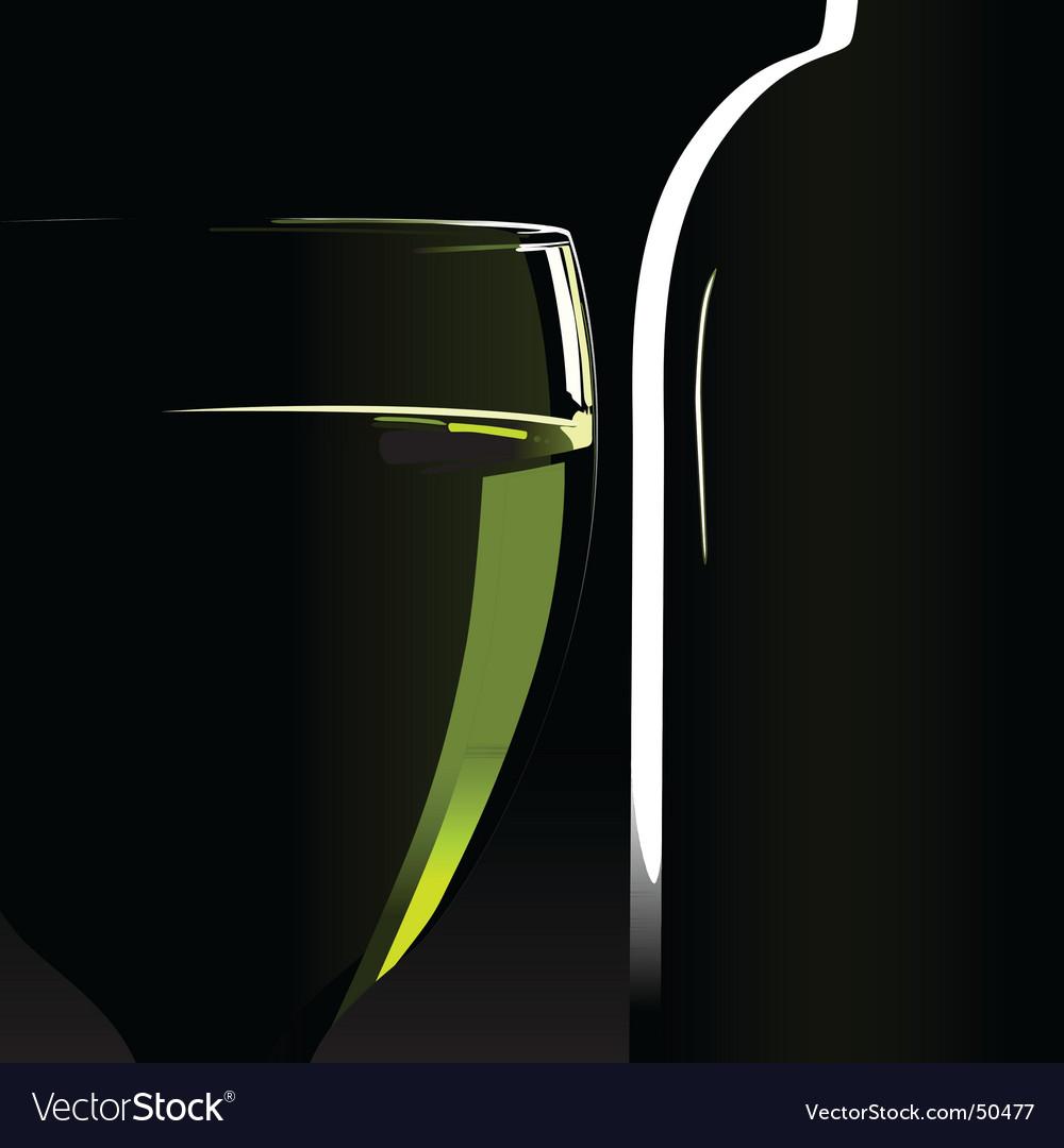 Wine glass vector | Price: 1 Credit (USD $1)
