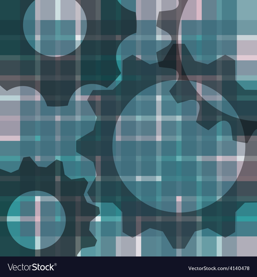 Abstract blur background - with gears vector | Price: 1 Credit (USD $1)