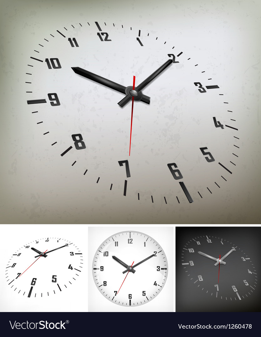 Round dial on gray vector | Price: 1 Credit (USD $1)