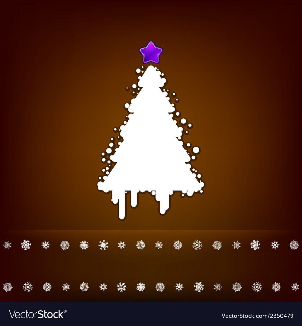 Design with christmas tree eps 8 vector | Price: 1 Credit (USD $1)