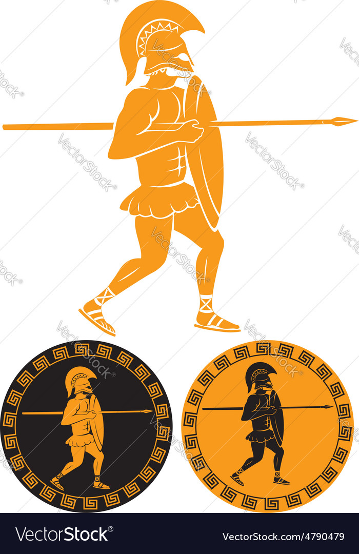 Gladiator vector | Price: 1 Credit (USD $1)
