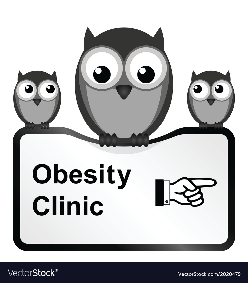 Obesity clinic vector | Price: 1 Credit (USD $1)