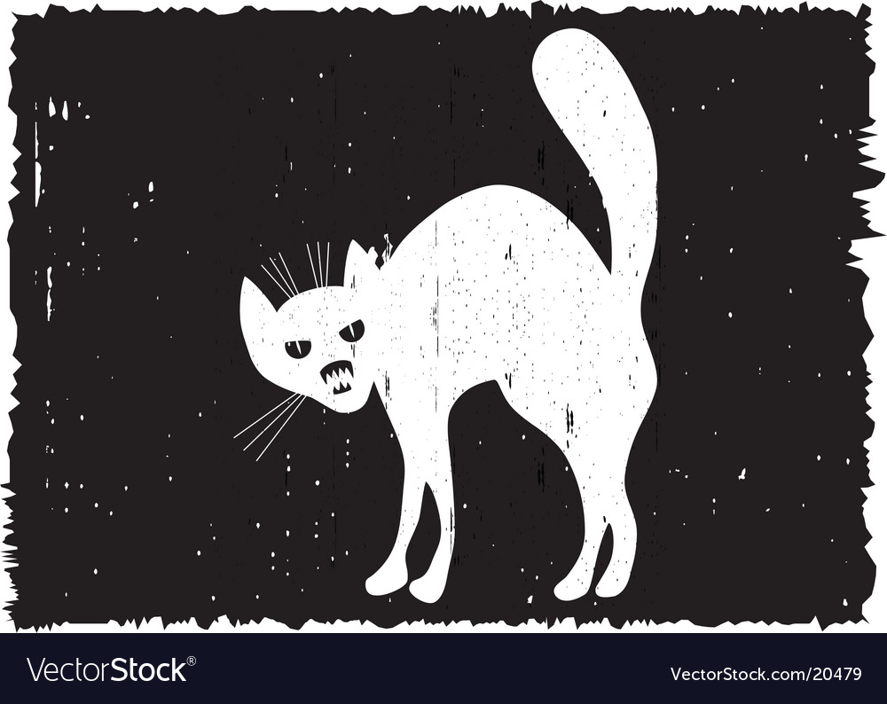 Very malicious cat vector | Price: 1 Credit (USD $1)