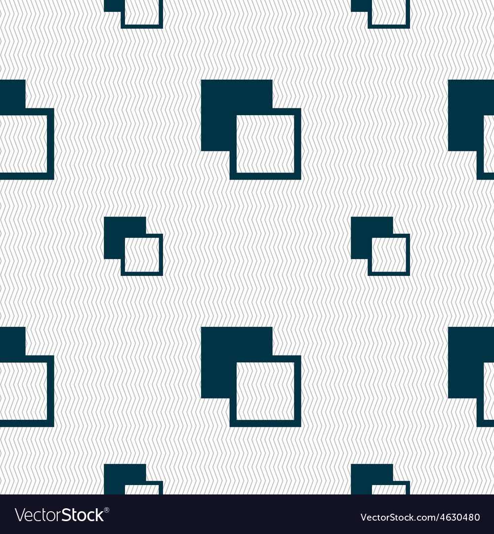 Active color toolbar icon sign seamless pattern vector | Price: 1 Credit (USD $1)