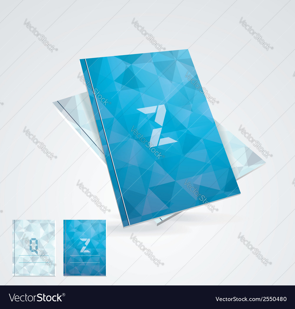 Brochure cover design template vector | Price: 1 Credit (USD $1)