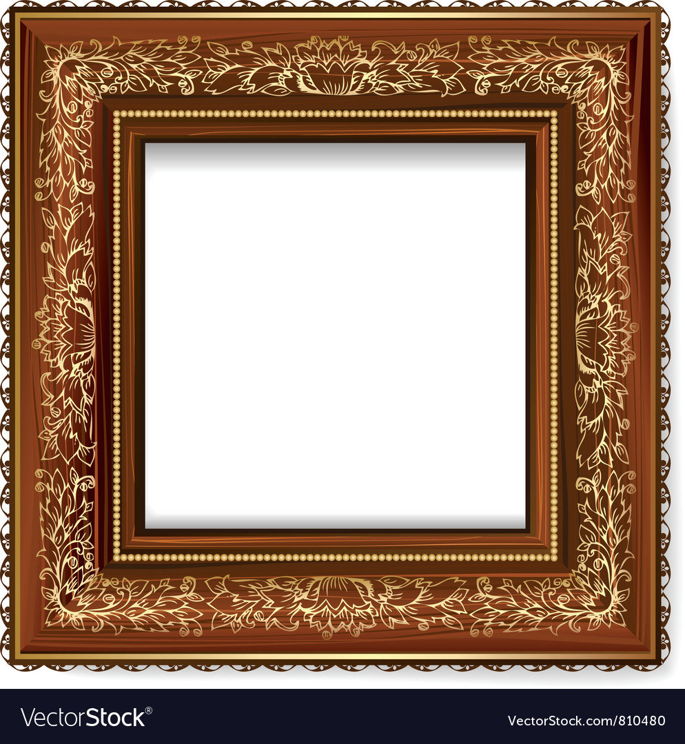 Retro frame vector | Price: 1 Credit (USD $1)