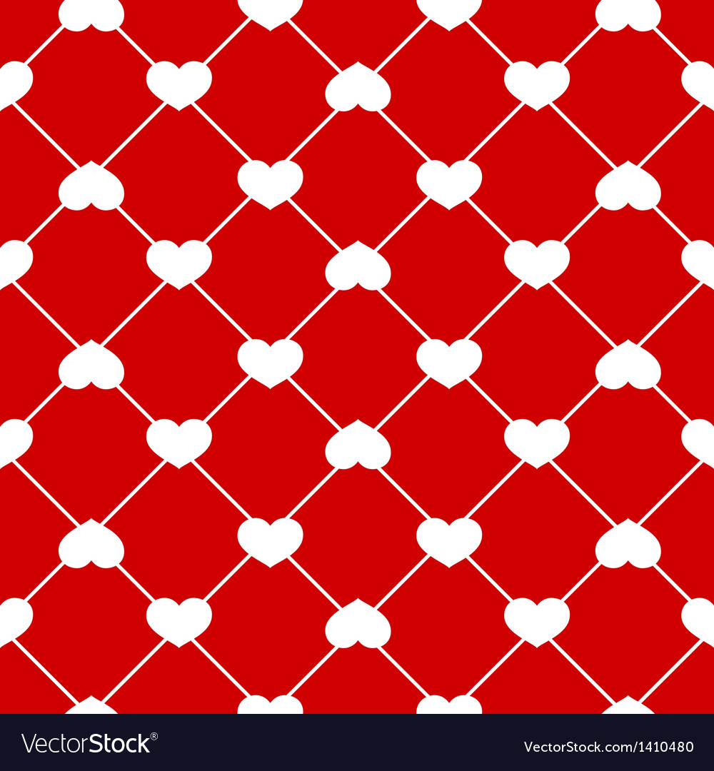 Seamless heart pattern vector | Price: 1 Credit (USD $1)