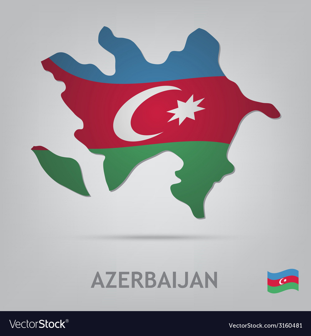 Azerbaijan vector | Price: 1 Credit (USD $1)