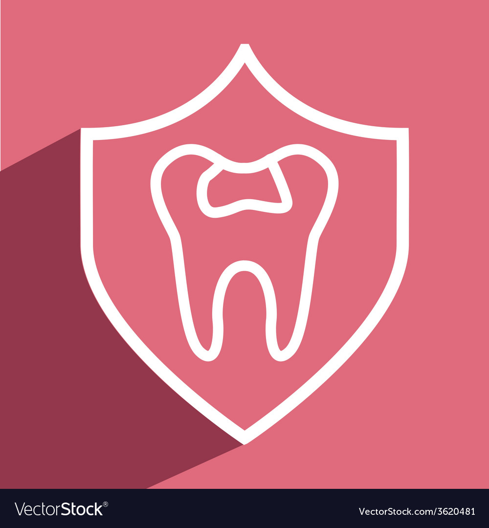 Dental care design vector | Price: 1 Credit (USD $1)