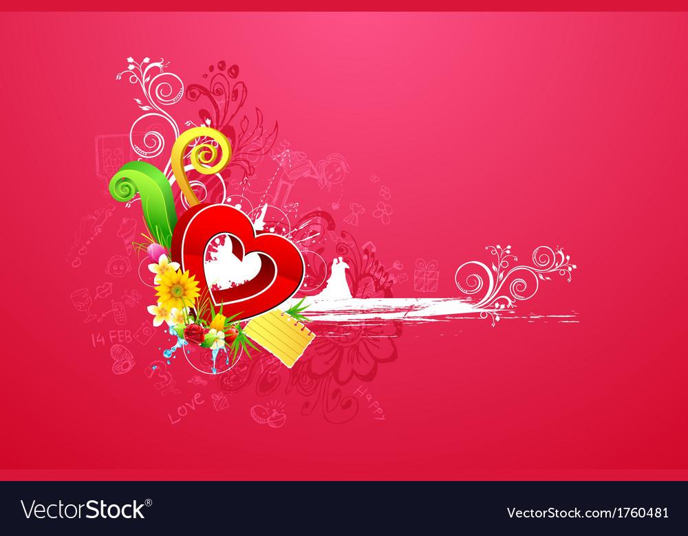 Love background vector | Price: 1 Credit (USD $1)