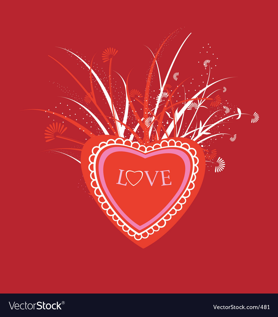 Love illustration vector | Price: 1 Credit (USD $1)