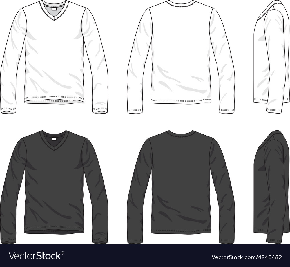 Blank tee vector | Price: 1 Credit (USD $1)
