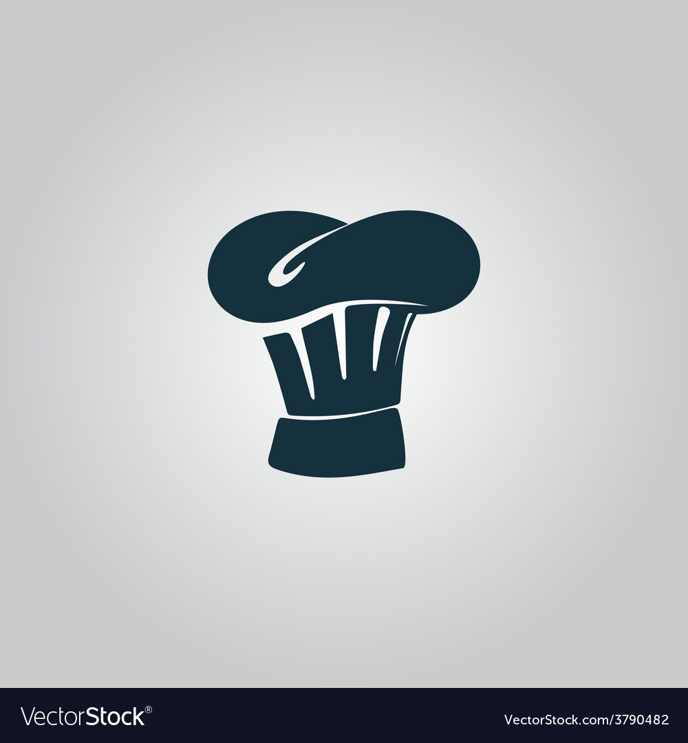 Chef hat icon sign and button vector | Price: 1 Credit (USD $1)