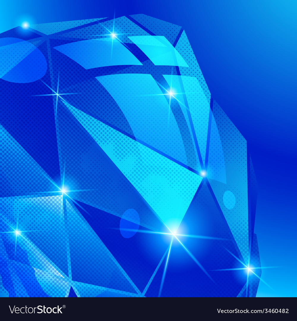 Futuristic background with effect sparkling vector | Price: 1 Credit (USD $1)