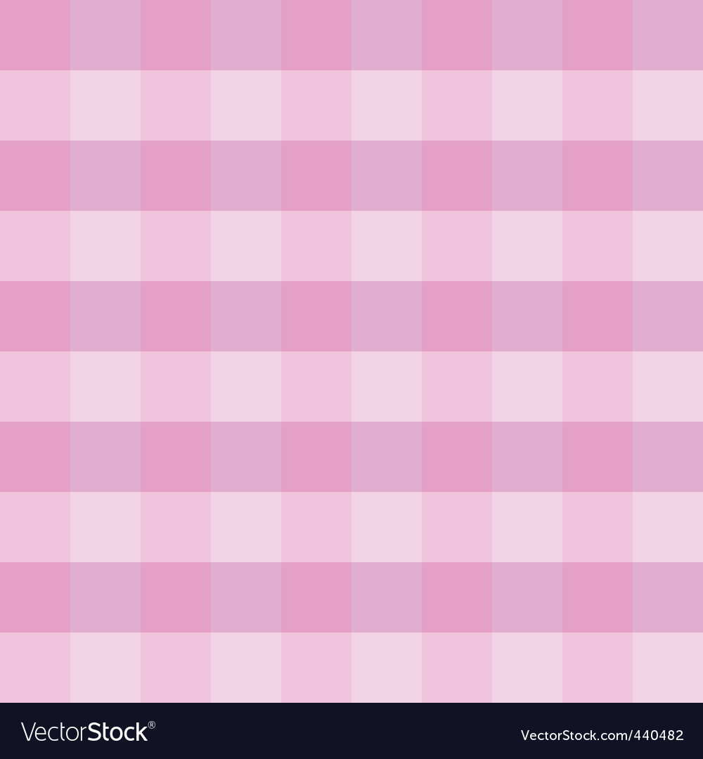 Pink checkered cloth vector | Price: 1 Credit (USD $1)