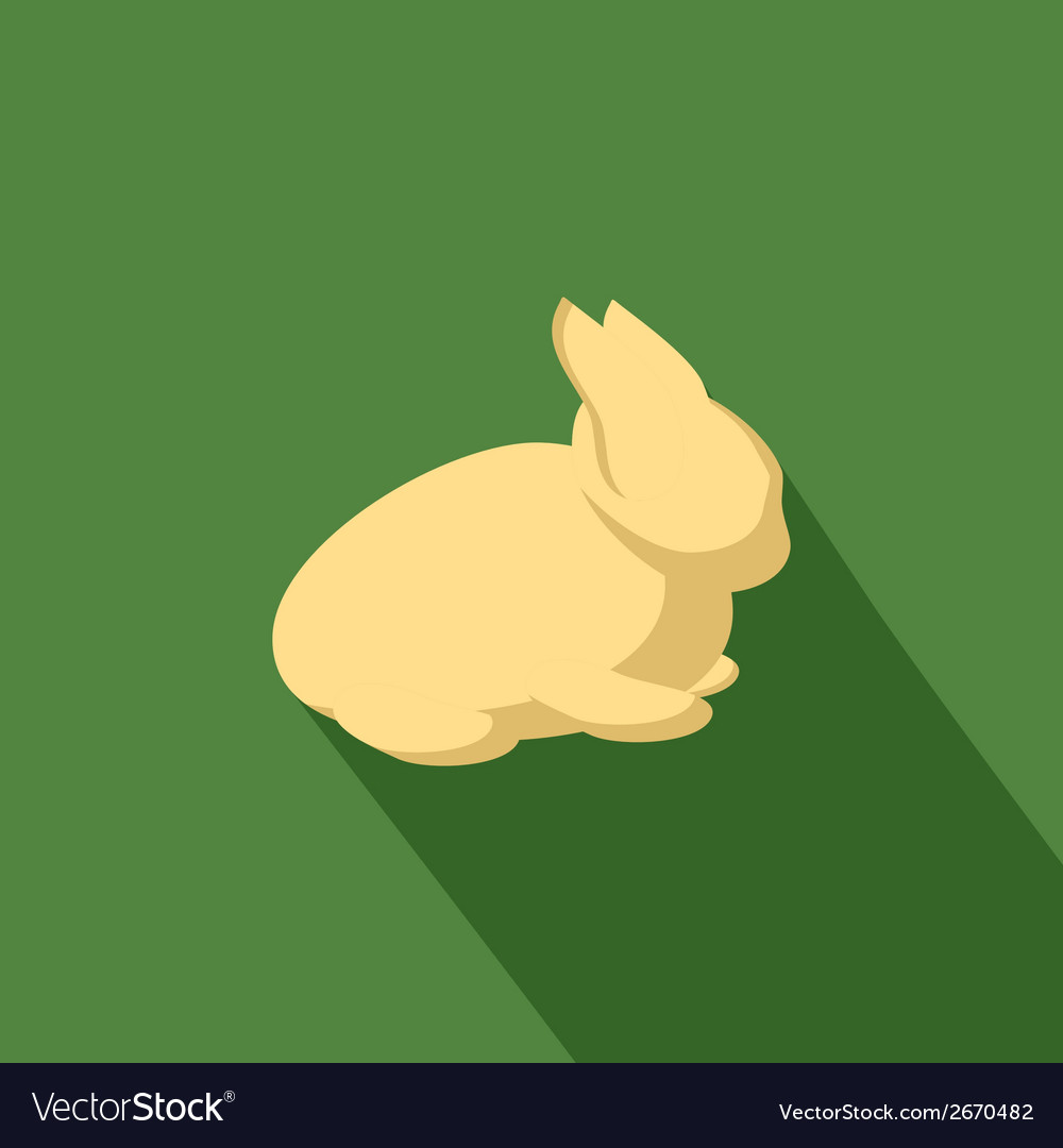 Rabbit icon vector | Price: 1 Credit (USD $1)