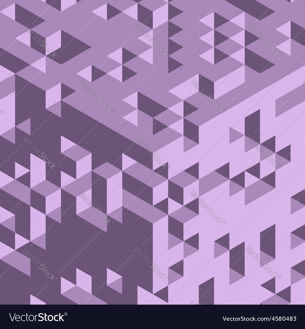 Abstract 3d geometrical background mosaic vector | Price: 1 Credit (USD $1)