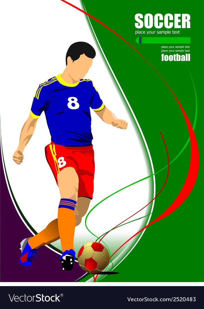 Al 0919 soccer06 vector | Price: 1 Credit (USD $1)