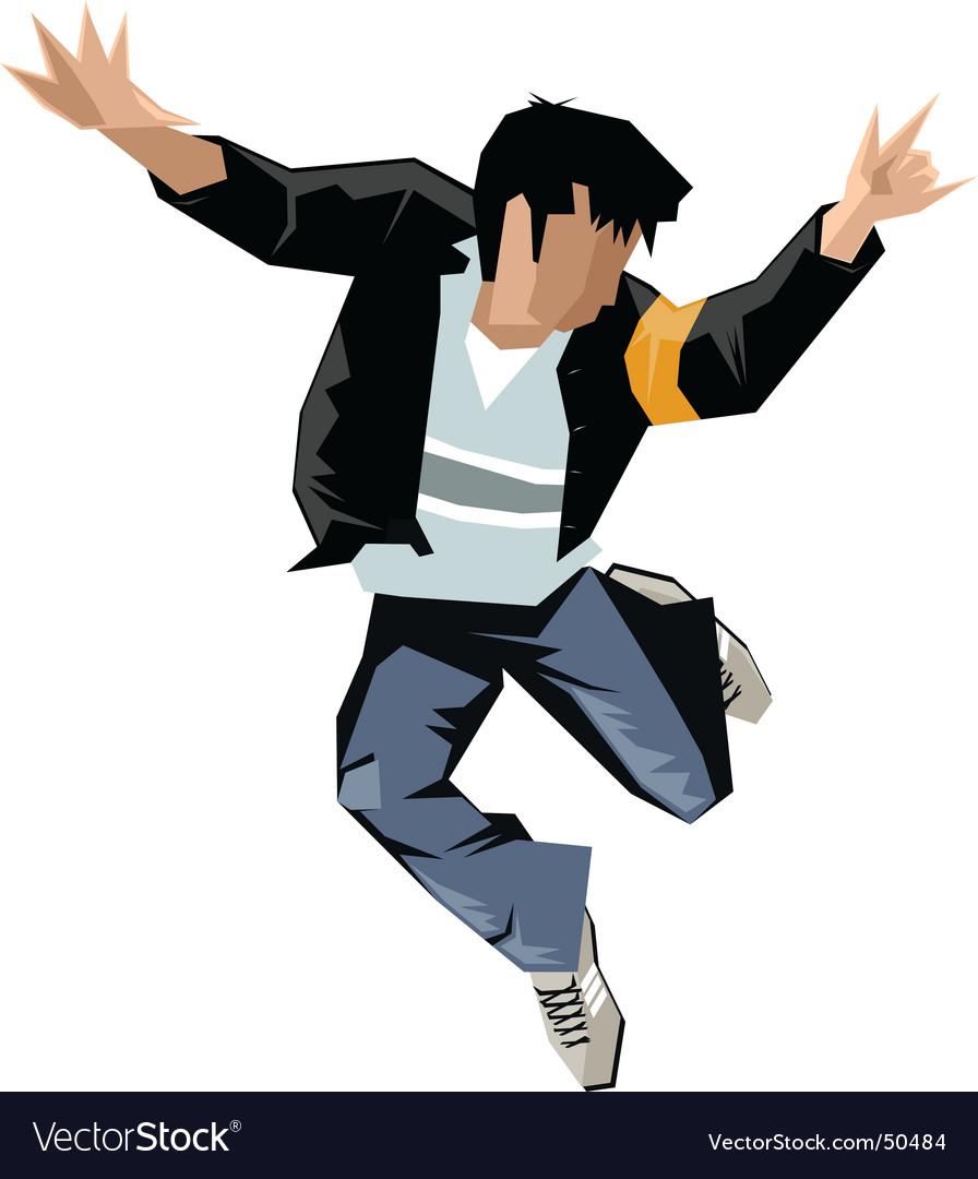 Break dance vector | Price: 1 Credit (USD $1)